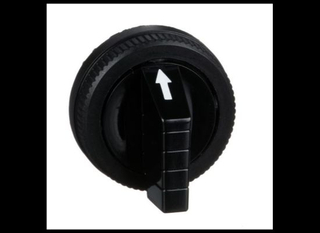 30mm Push Buttons, Selector Switch Short Handle, Black Push Buttons