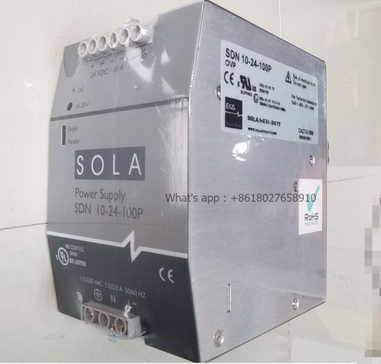 Sola Sdn 10-24-100p DC Power Supply Module for Conveying Equipment